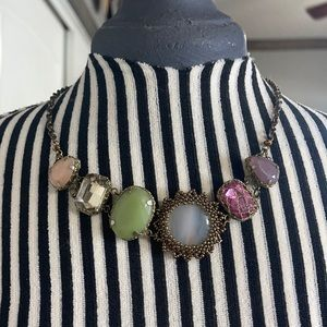 Necklace with stones